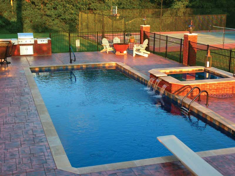 atlas fiberglass pool