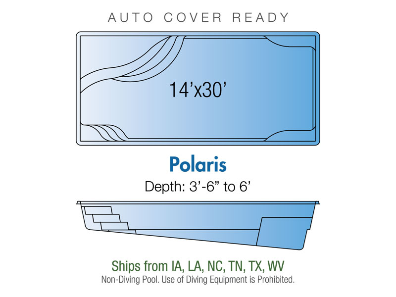 polaris fiberglass pool