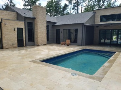 Gunite Pool Built in Birmingham Alabama