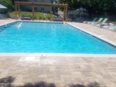 Apartment Complex Pool Remodeled in Mobile Al